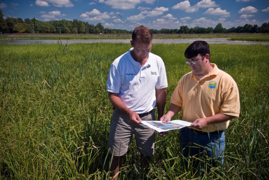 NRCS and farmer conservation efforts