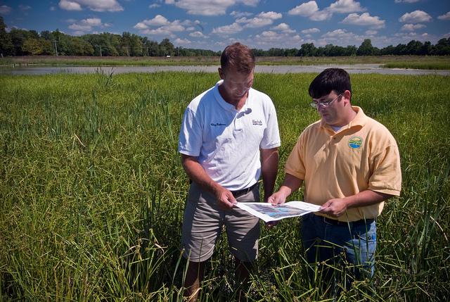 NRCS and farmer conservation efforts