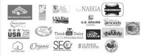 USSA Member Logos grayscale